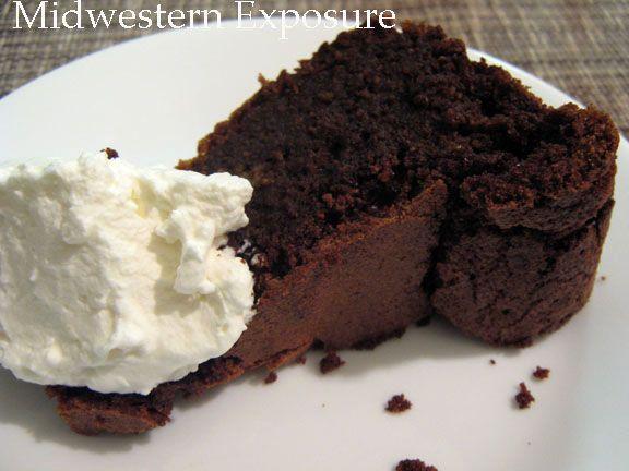 Chocolate Polenta Cake