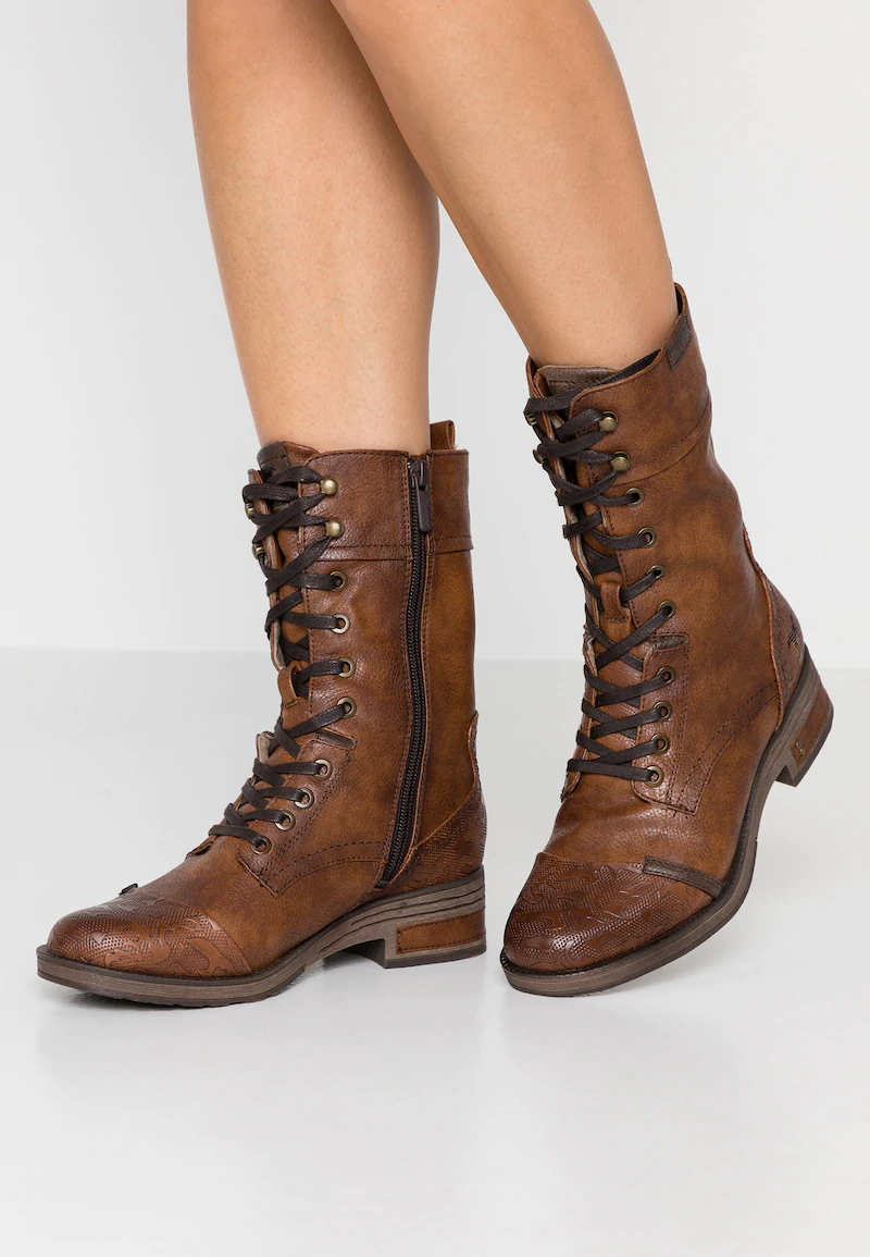 lowest price attractive price reasonable price Lace-up boots - cognac @ Zalando.co.uk 🛒 | Boots, Lace up ankle ...