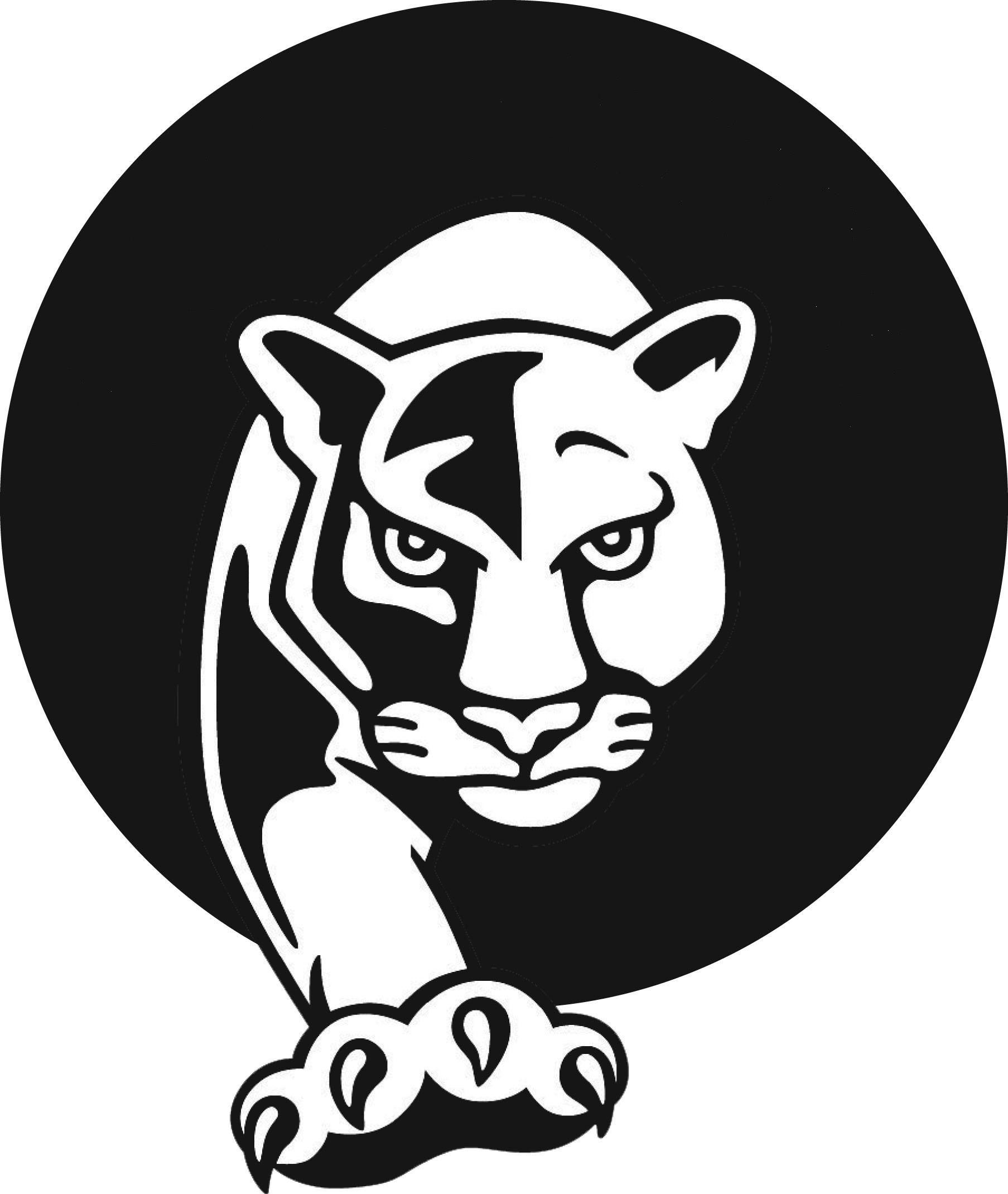 Panther clipart logo 13 Panther logo, Halloween pumpkin