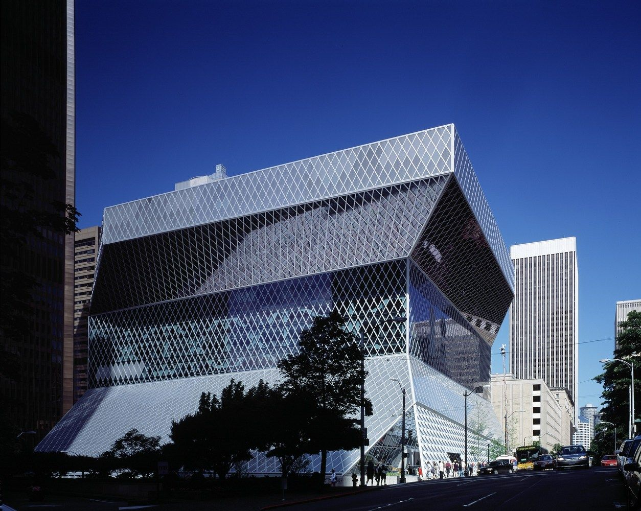 Gallery of Seattle Central Library / OMA + LMN - 8