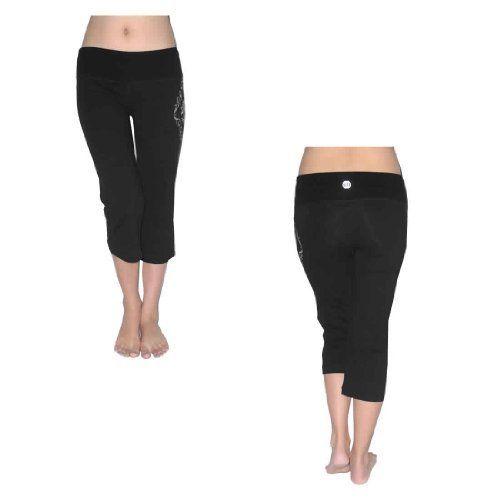 Womens Balance Collection Comfortable Casual Wear Sport Yoga Capri