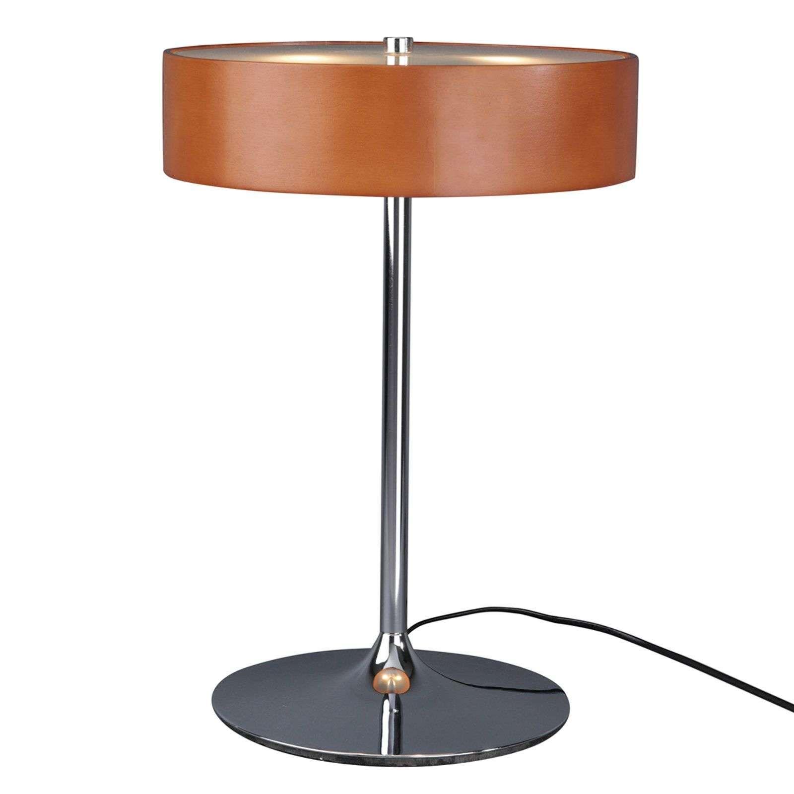 Malibu Eine Tischleuchte Mit Kirschholz Kirschholz Lampentisch Lampe
