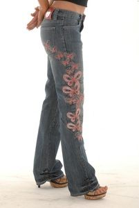I NEED these!!  Ladies Butterfly Kevlar Motorcycle Jeans $149.00