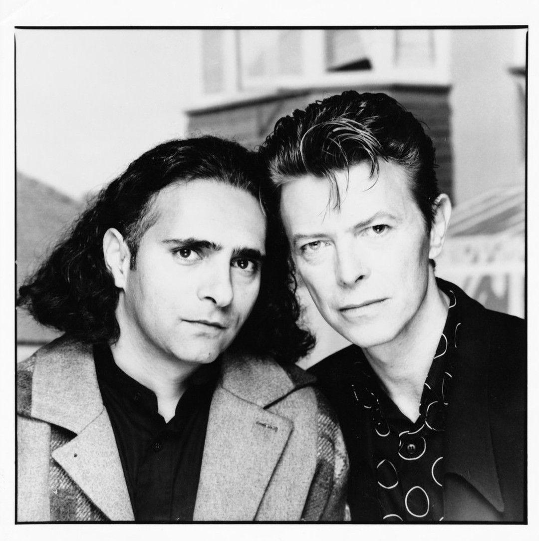 David and his friend, novelist Hanif Kureishi. Both went to the ...