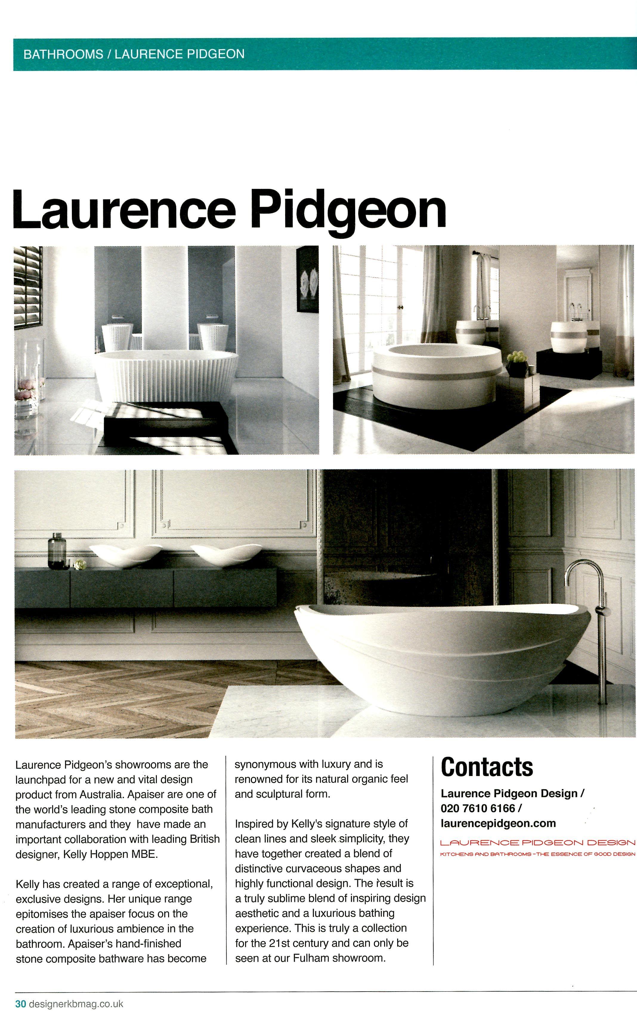 Laurence Pidgeon sells Kelly Hoppen\'s new range for apaiser ...