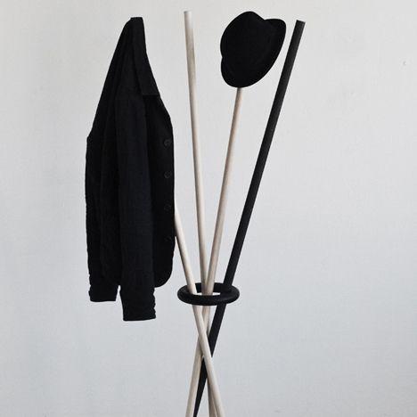 coat stand.