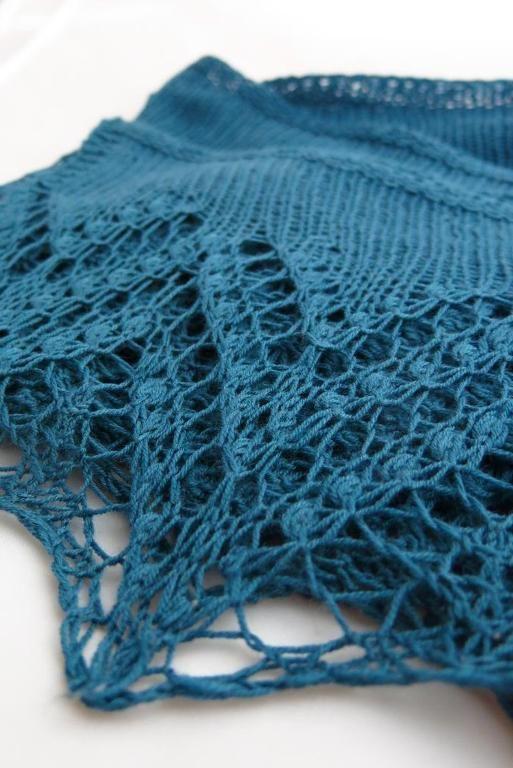 Loch Katrine Shawl knitting pattern by Littletheorem on Craftsy