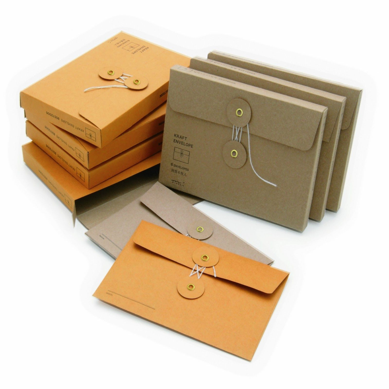 Inspired By Senses Sending A Letter In Style Envelope Packaging
