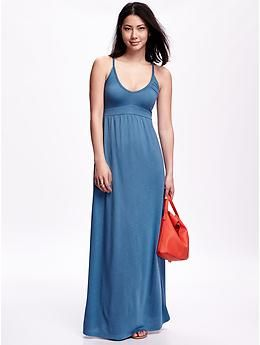 Empire waist maxi dress old navy