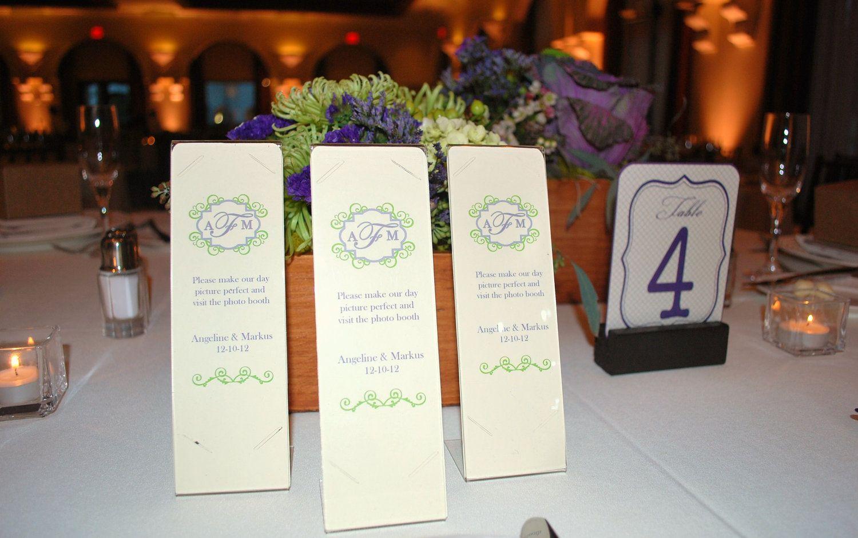 Photo Booth Card Strip Frame Inserts Custom listing for Cynthia ...