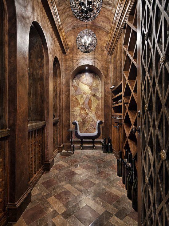 Amazing Rustic Wine Cellar Italian Elegance Home Interior Interior