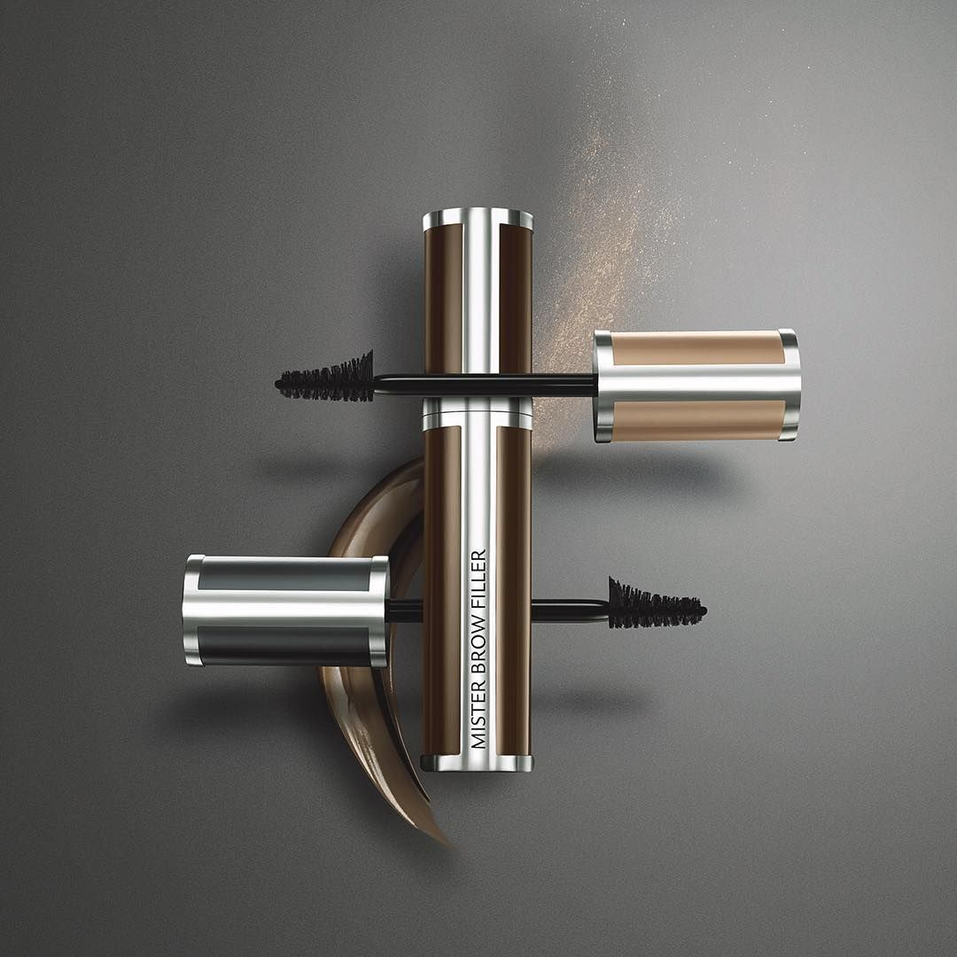 No more sticky brow gel. Mister Brow Filler sets your brows straight in seconds… and keeps them that way. #BrowStudioGivenchy #GivenchyBeauty #eyebrows #makeup #eyes #frame #makeupartist