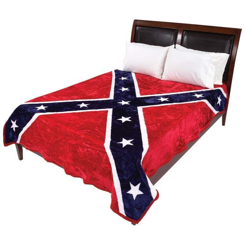Confederate Civil War Flag Grunge Custom Size Window Curtains
