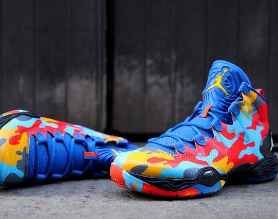 Air Jordan Xx8 Se Russell Westbrook Camo Shoes Mens Fashion