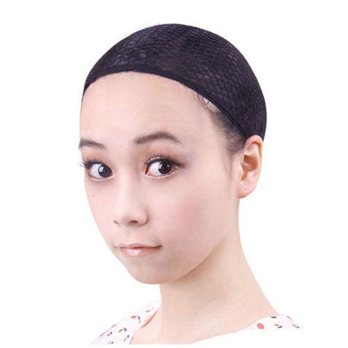 MAYSU Net Structure New Wig Cap (Black,open Mesh) 2 PCS by MAYSU. $3.99. All Purpose Hair Cap with elastic Hair Line. Manages your hair and hides it well. Secures hair to hold under wigs. Size: Average,Fits average headsize. Enables your hair to breathe under these nets. This wig cap by Hair U Wear is made of washable, stretch nylon that is light and comfortable to wear. This comfortable wig cap secures your original hair underneath without revealing wisps showing. The ca...
