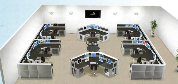 Call Center Layout Design Google Search