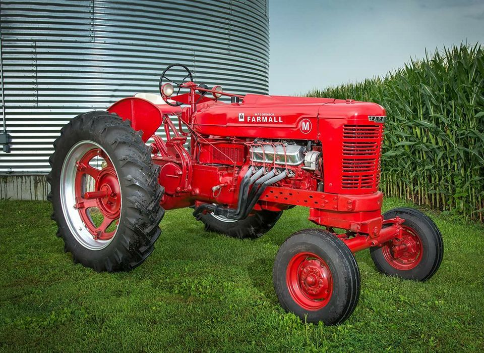 V8 Antique Tractors : Farmall m old tractors pinterest tractor