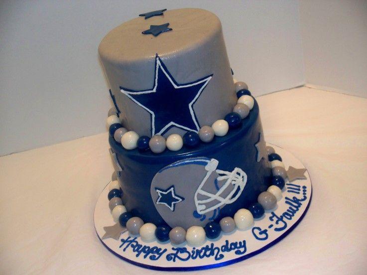 Dallas Cowboys Centerpieces   Faulk Dallas Cowboys   Cake Decorating  Community   Cakes We Bake