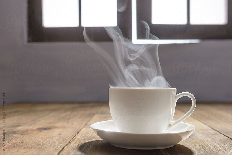 Steaming Cup Of Hot Coffee By Rg B Images For Stocksy United With