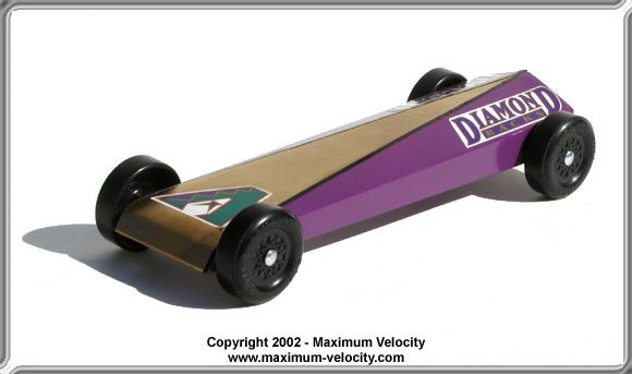 Extended Wedge SE Pinewood Derby Car Design Pinewood Derby - pinewood derby template
