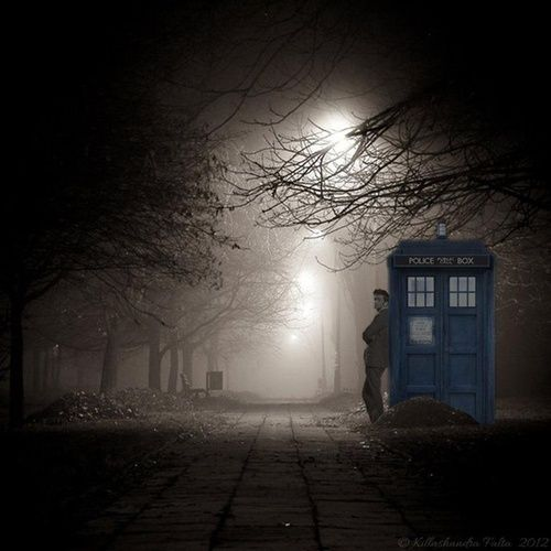 Doctor and the Tardis