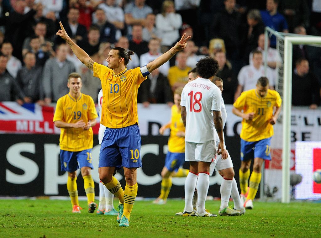 Zlatan Ibrahimovic Photos Photos Sweden V England International