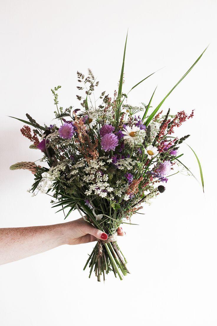 Mittsommerstrauß – Karina K. – #Karina #midsommarukett #flowerbouquetwedding