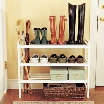 Or, Find A Pretty Shoe Rack. | 28 Easy Solutions To Your Closet Problems