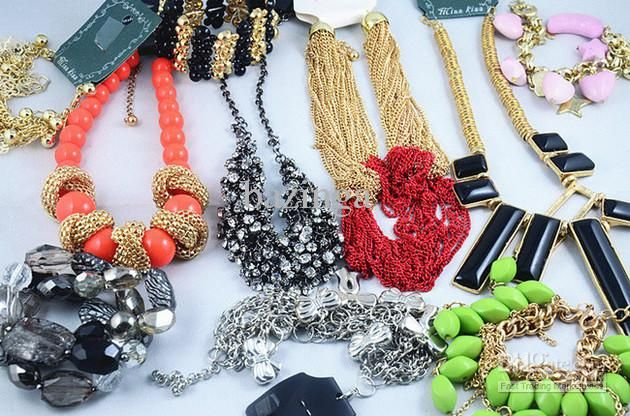 Best Hot Europe Style Necklaces Bracelets Earrings Rings Multi Fashion Jewelry Whole 500g Under 22 51 Dhgate Com