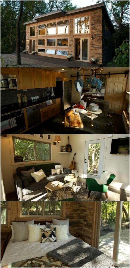 Homeschooling family of seven design dream tiny home with only 545 square feet