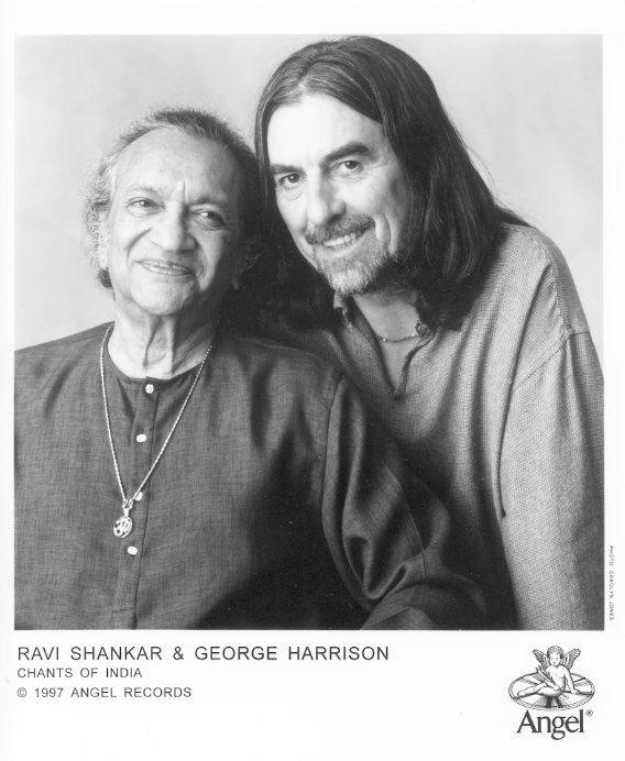 Ravi Shankar♥♥George H. Harrison♥♥  Chants Of India promotional shot