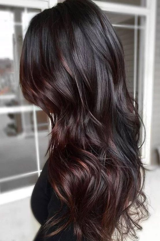 awesome dark brown hair color