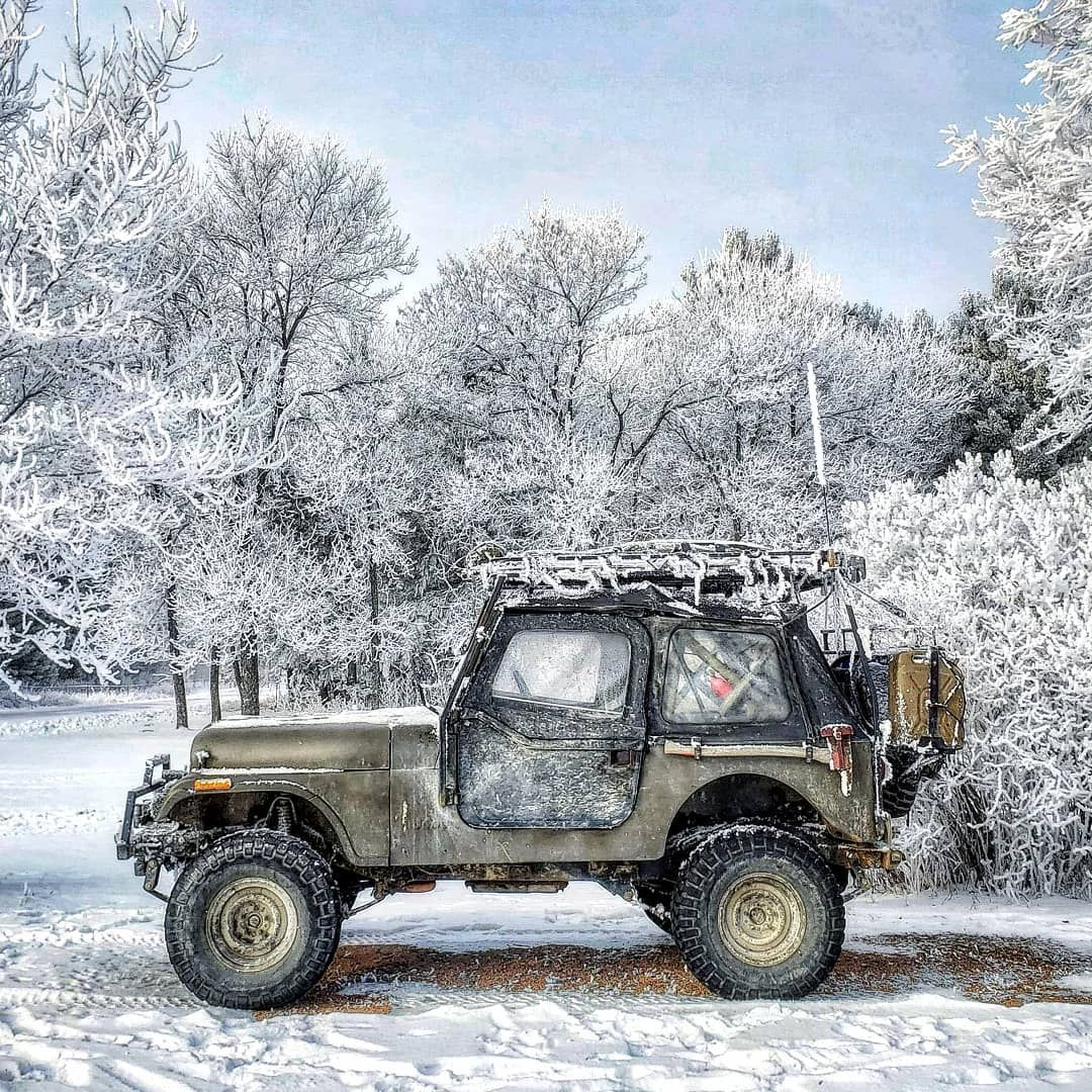 April Snow It Is Wisconsin On National 4x4 Day We Have A Great