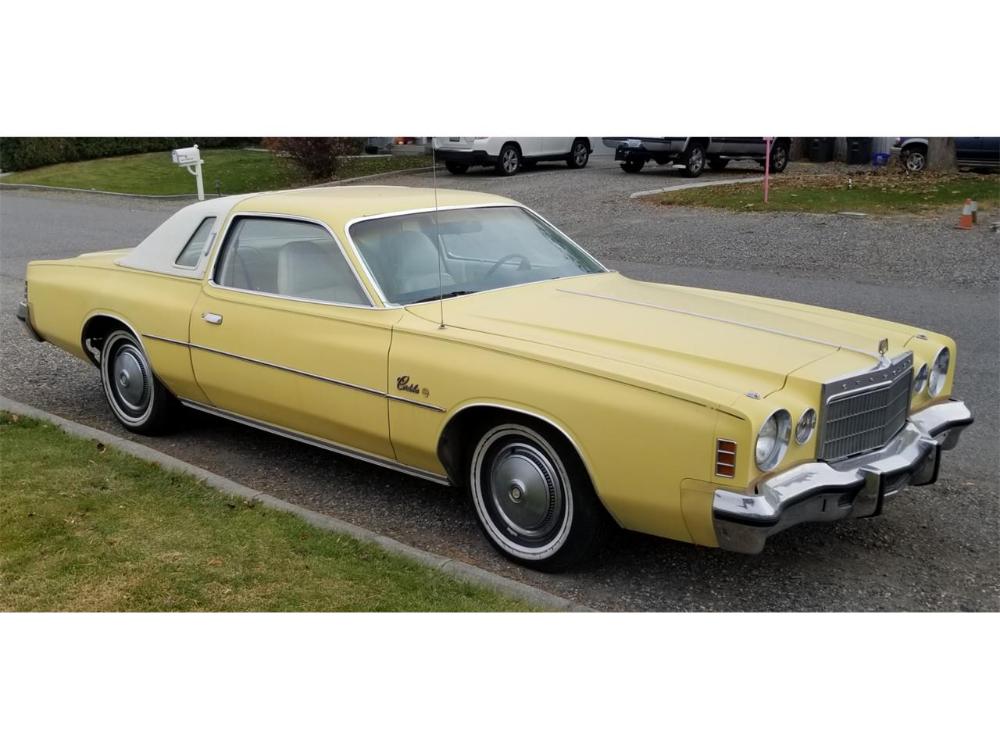 1975 Chrysler Cordoba Cc 1294424 For Sale In Kennewick Washington Chrysler Cordoba Classic Cars Usa Chrysler