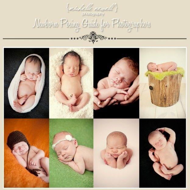 Newborn Baby Posing Guide