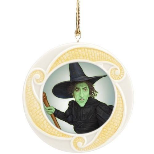 Lenox Wizard of Oz Wicked Witch of the West 75th Anniversary Ornament