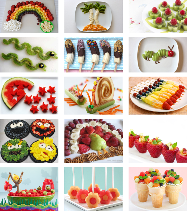 fun way to serve fruits