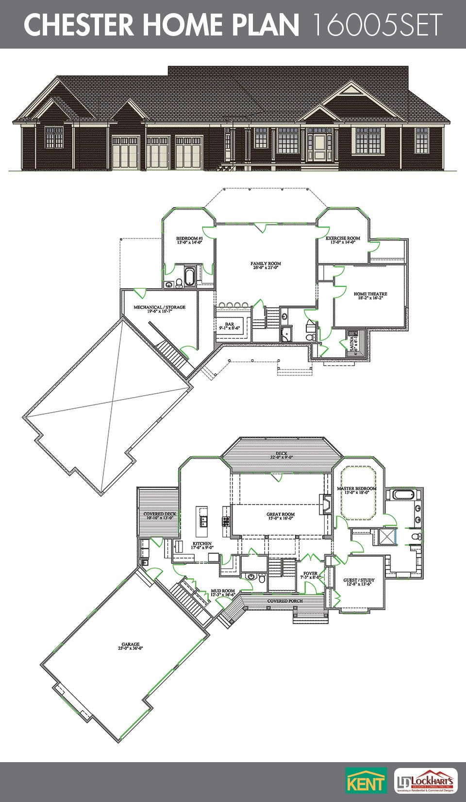 Chester Home Plan House Plans Kent Building Dream House Plans