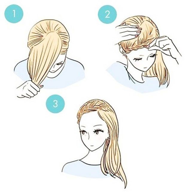7 Easy Little Girl Hairstyles For School   Easy To