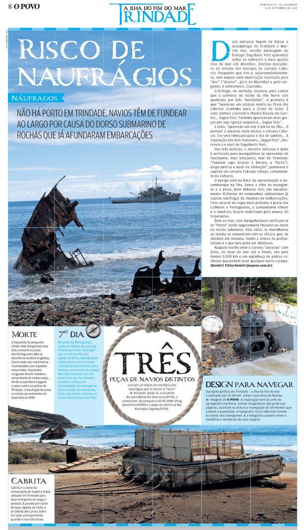 Ilha de Trindade. Projeto gráfico: Gil Dicelli