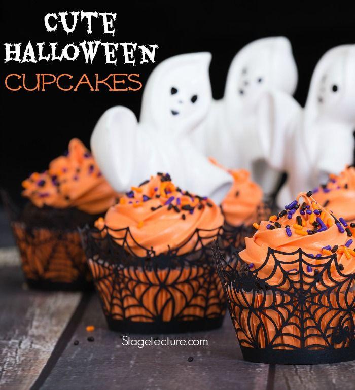 How to Make Cute Halloween Cupcakes Recipe Decadent Desserts - halloween dessert ideas