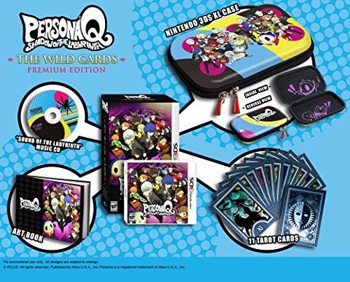 Pin by Emaciation Dungeon on Want List | Persona q, Persona, Games