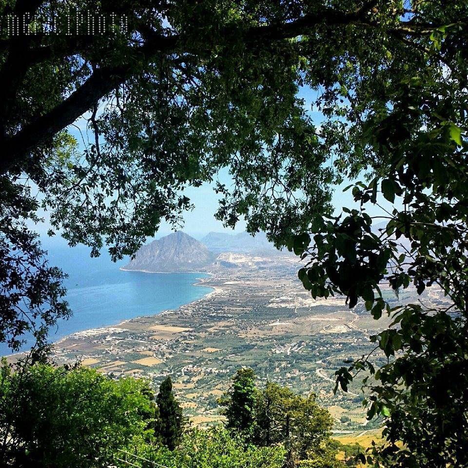 Veduta da Erice. Sicilia