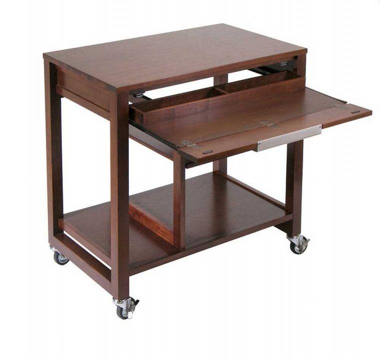 Small Computer Desk On Wheels Diy Wall Mounted Desk Small Computer Desk Desk With Keyboard Tray Wood Computer Desk