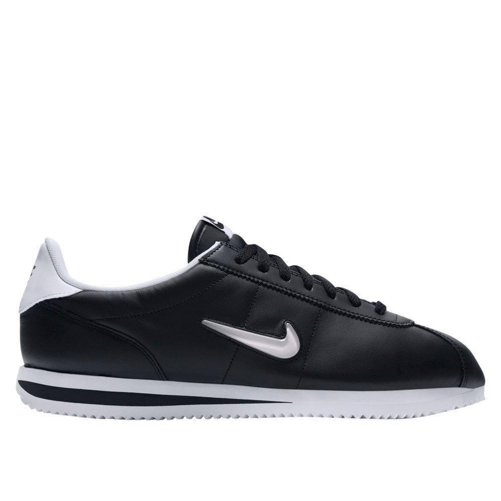15699b62a0d Nike Cortez Basic Jewel Black 833238002 black halfshoes  fashion  clothing   shoes  accessories  mensshoes  athleticshoes