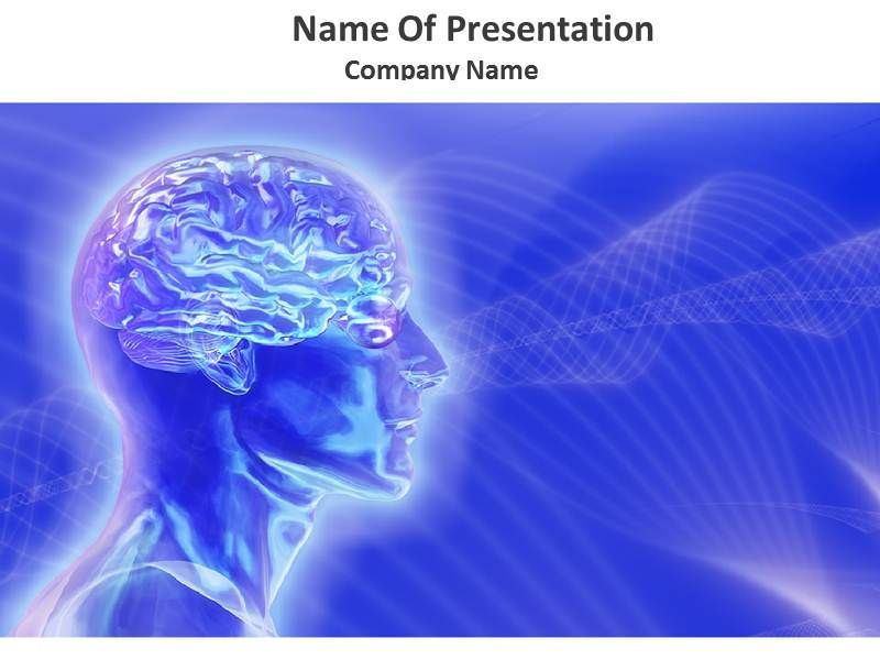 Animated Brain PowerPoint Template, Animated Brain PowerPoint - water powerpoint template