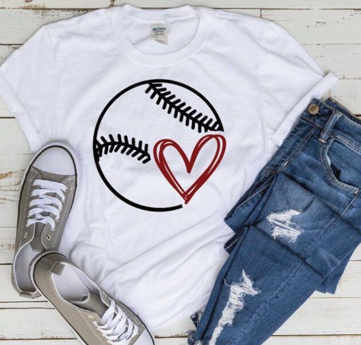 Pin by Samantha Rickman on cricut Baseball tshirts