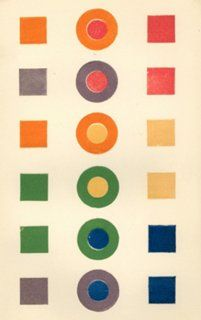 Primary & Secondary Color Study, 1859