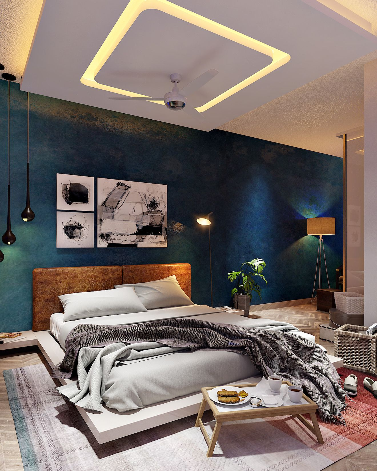 Best Interior Designers In Bangalore Ceiling Design Bedroom