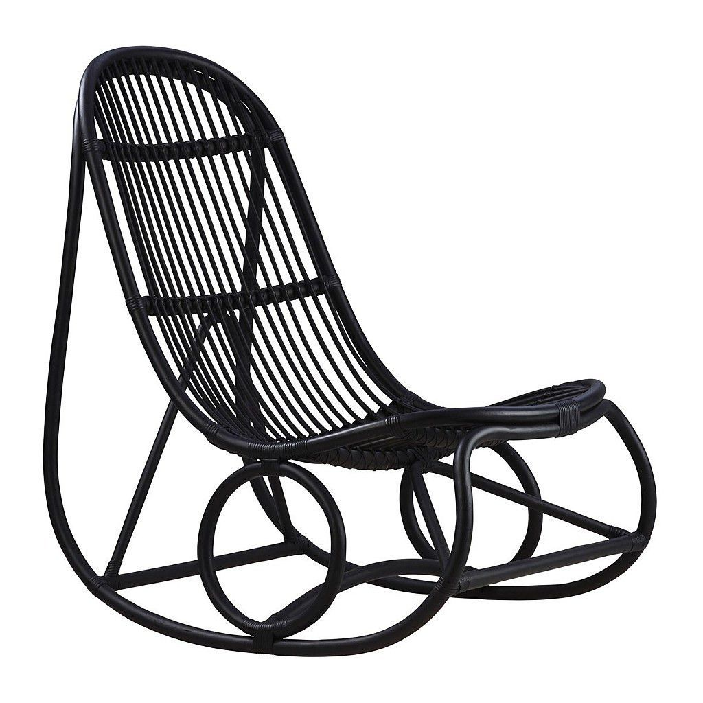 Wondrous Nanny Rocking Chair Chairs Rattan Rocking Chair Black Dailytribune Chair Design For Home Dailytribuneorg